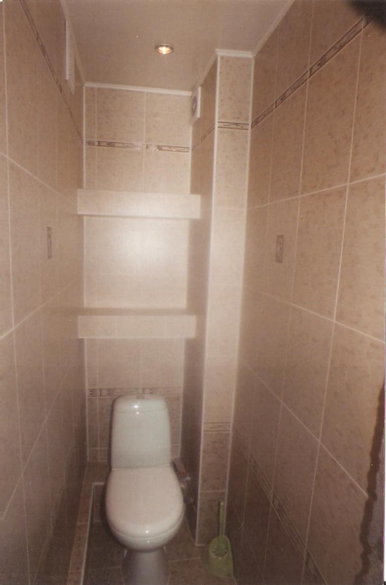 Фото дизайн туалета с полками